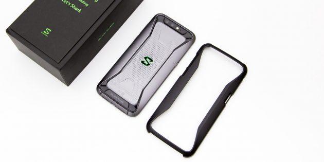 Смартфон BlackShark: Задняя крышка