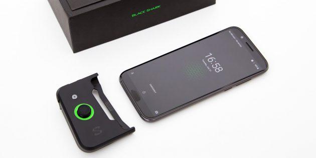 Смартфон BlackShark: Игровой контроллер