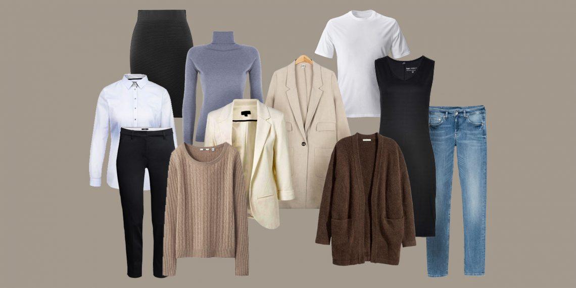 Как собрать базовый гардероб: подробный чек-лист для женщин и мужчин