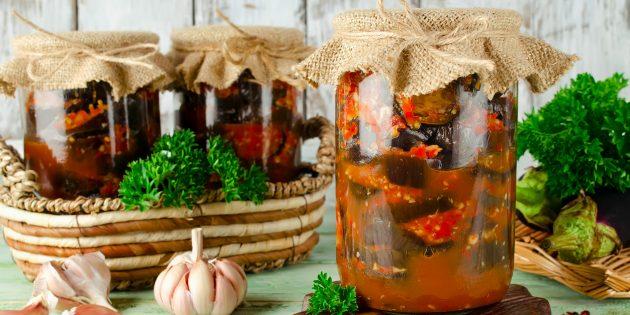 Как заготовить баклажаны на зиму: 10 рецептов очень вкусных блюд