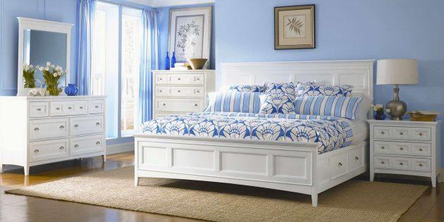 Какой должна быть спальня для комфортного сна: от интерьера до комнатных растений