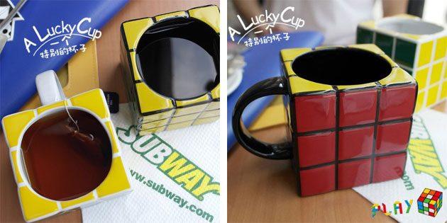 весёлые кружки: Кружка-кубик Рубика