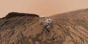 Лучшие снимки Марса, сделанные аппаратом Curiosity