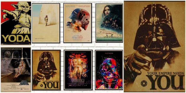 Плакат «Звёздные войны»