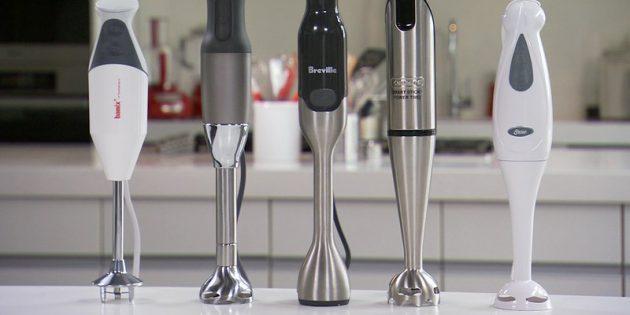 Как выбрать блендер: Основная насадка может быть из пластика или металла
