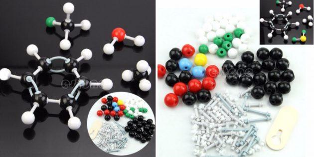 товары для школьников и студентов с AliExpress: Набор для моделирования молекул