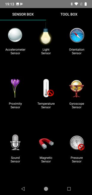 XiaomiMiA2Lite: SensorBox