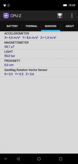 Обзор Leagoo S9: CPU-Z