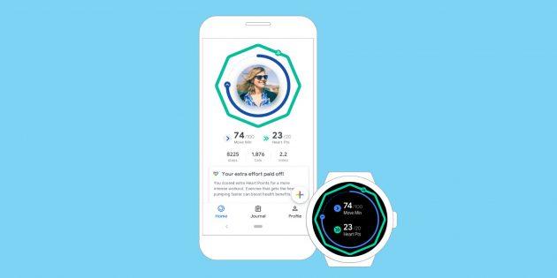 Обновление Google Fit: классный дизайн и улучшенная система мотивации