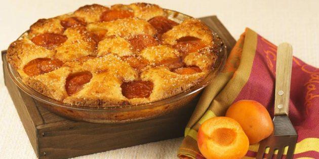Пирог с абрикосами: Быстрый пирог с абрикосами