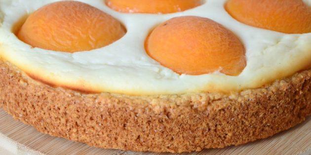 Пирог с абрикосами: Пирог с абрикосами и творогом