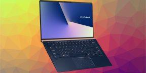 Новые ноутбуки ASUS лишились рамок вокруг дисплеев