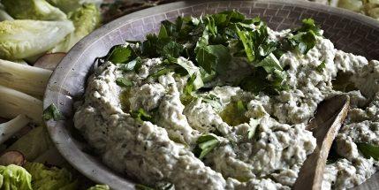 Блюда из овощей: Пряный баклажановый дип