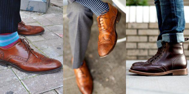 Летняя распродажа одежды и обуви для мужчин: Броги