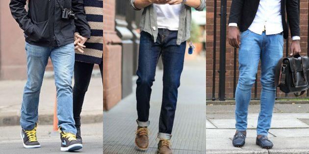 Летняя распродажа одежды и обуви для мужчин: Джинсы