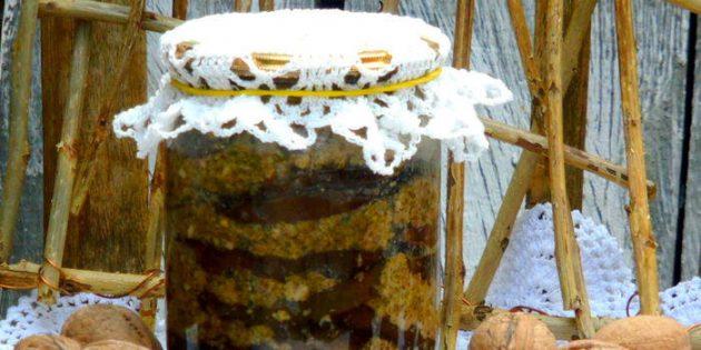 Вкусные баклажаны на зиму: Запечённые баклажаны с грецкими орехами
