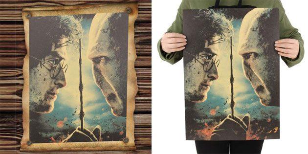 Плакат с Гарри Поттером