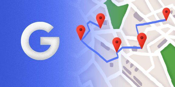 Как составить маршрут на один день пребывания в городе через Google