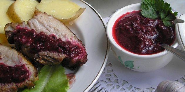 Что приготовить из крыжовника: Остро-сладкий соус из крыжовника к мясу