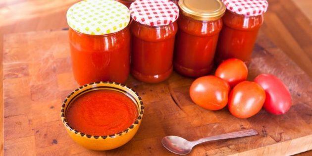 Классический домашний кетчуп