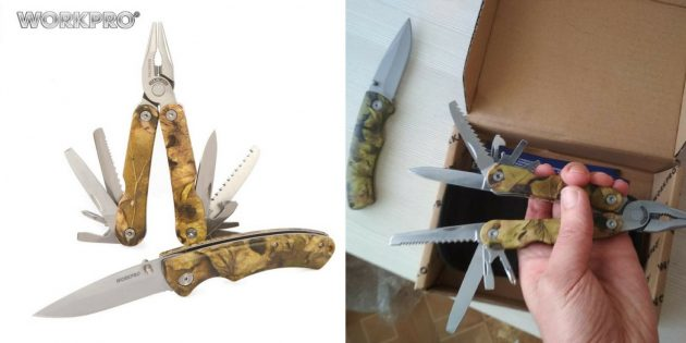 Мультитул и нож