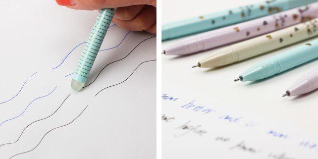 Стираемые ручки
