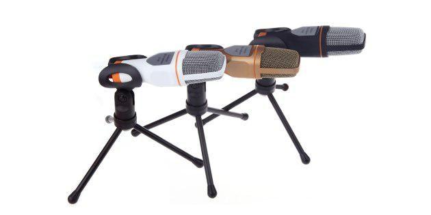 Микрофон с держателем