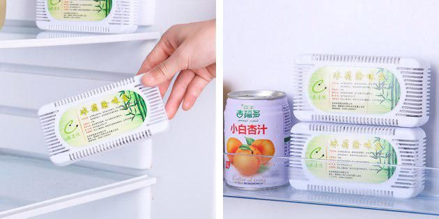 Очиститель воздуха в холодильнике
