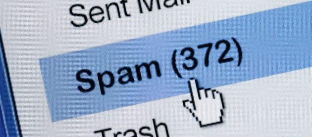 ваши личные данные: Используйте спам-фильтр для почты