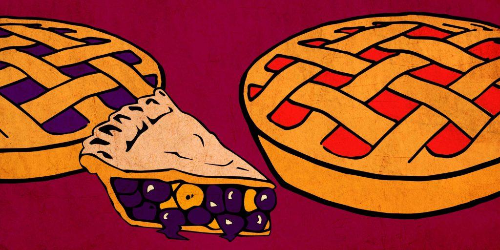 Грушевый пирог доброе утро