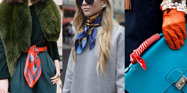 Летняя распродажа одежды и обуви для женщин: Платок
