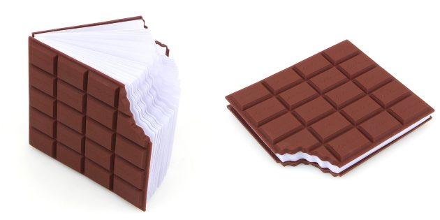 Блокнот-шоколад
