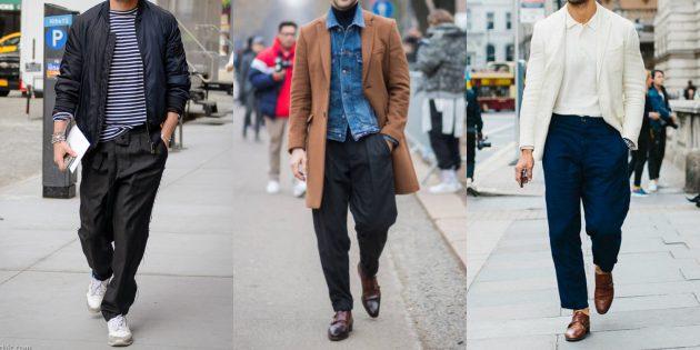 Летняя распродажа одежды и обуви для мужчин: Просторные штаны
