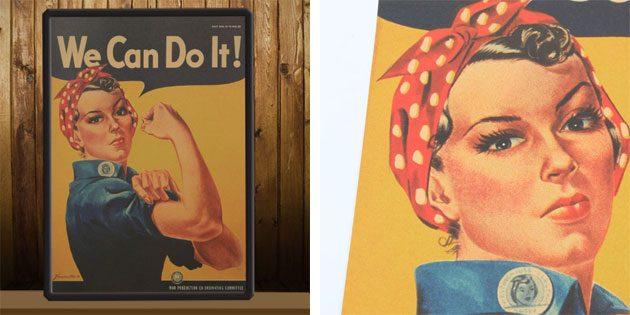 Плакат «We Сan Do it!»