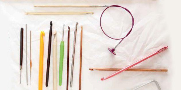 Как научиться вязать крючком: выбор крючка