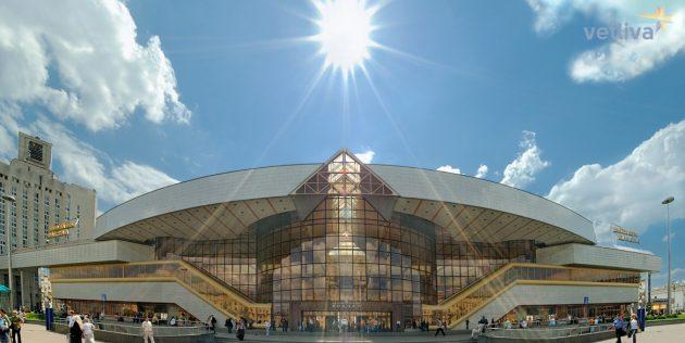Минск советская архитектура