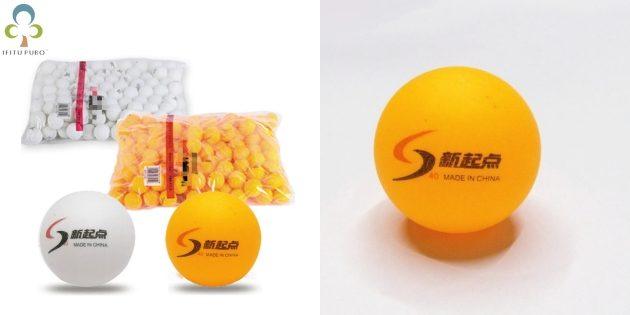 Набор мячиков для пинг-понга
