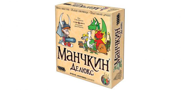 Настольные игры: «Манчкин Делюкс»