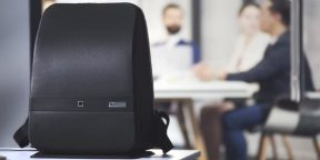 Штука дня: умный рюкзак, который сбережёт ваши вещи и зарядит смартфон