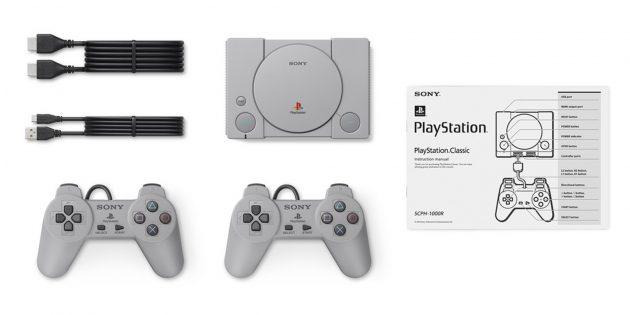 PlayStation Classic: комплектация