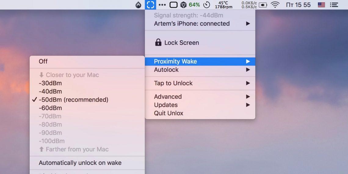 Mac iPhone: Разблокируйте Mac с помощью iPhone