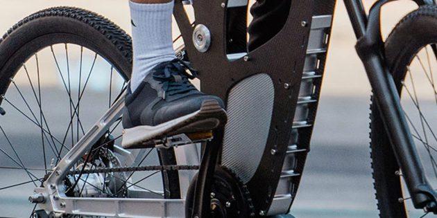 Электрический велосипед: Необычный двигатель