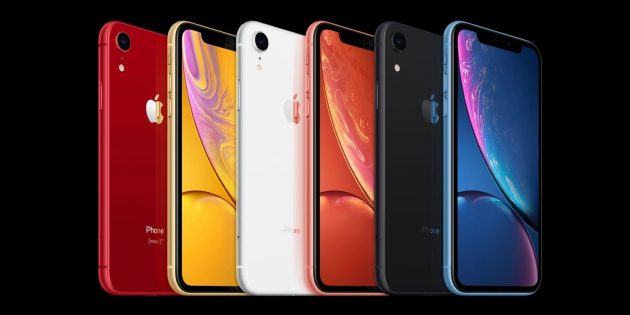 iPhone XR: дизайн