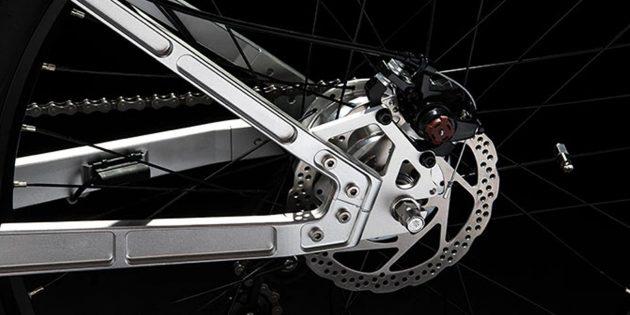 Электрический велосипед: Гидравлические тормоза