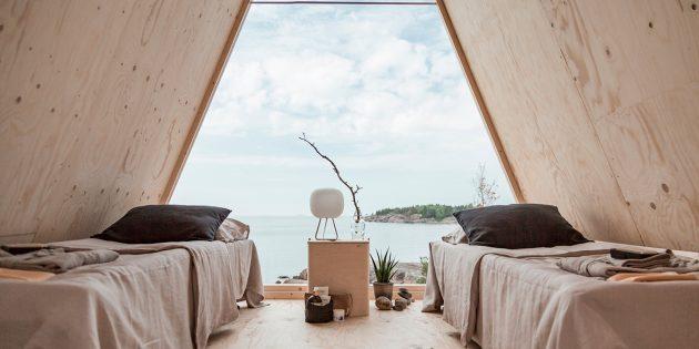 Экологичный дом: Вид изнутри