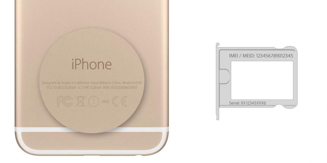 Как проверить айфон перед покупкой: IMEI и серийный номер на задней панели и лотке сим-карты