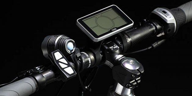 Электрический велосипед: LCD-дисплей