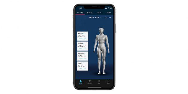 3D-сканер: Naked Labs Scanner App
