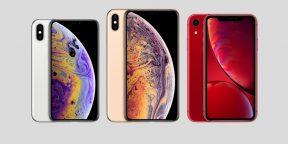 Ёмкость аккумуляторов iPhone XS оказалась меньше, чем у предшественника
