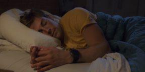 Штука дня: браслет, который улучшает сон